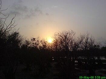 Sun Rising in Kuakata, Bangladesh