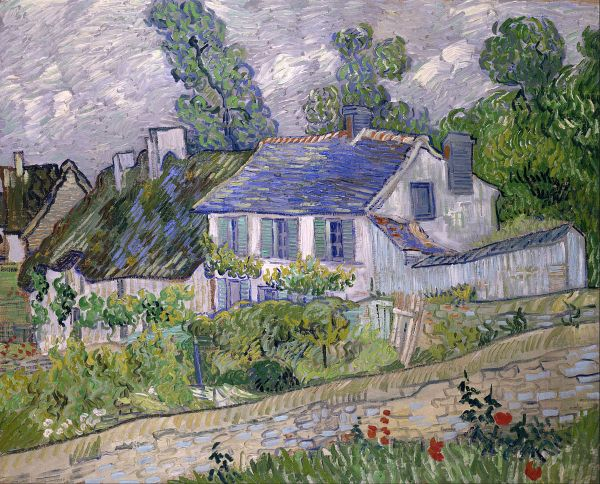Houses at Auvers Vincent Van Gogh
