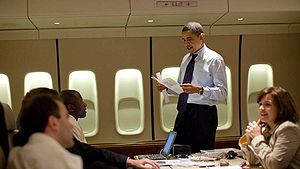 President Barack Obama is seen with White Hous...
