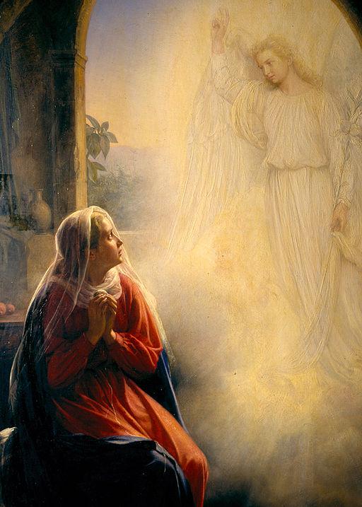 Carl Heinrich Bloch - The Annunciation