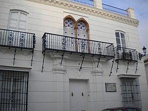 Vista de la Casa Natal de Juan Ramón Jiménez. ...