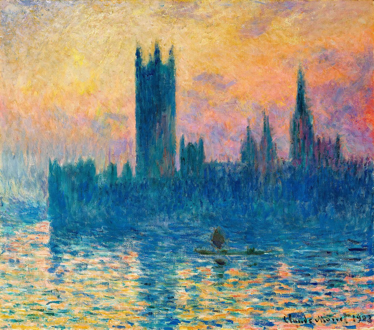 FileClaude Monet  The Houses of Parliament Sunsetjpg  Wikimedia Commons