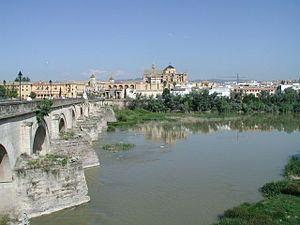 Guadalquivir and old Roman Bridge, Córdoba