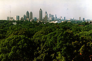 English: Atlanta Skyline