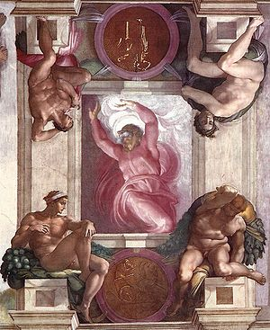 Sistine Chapel, fresco Michelangelo,