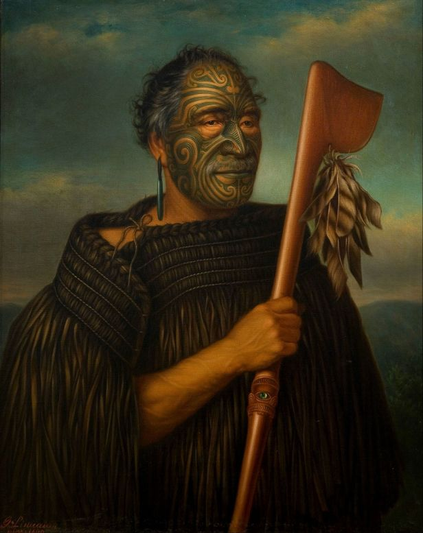 Gottfried Lindauer - Tamati Waka Nene - Google Art Project