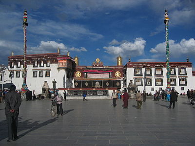 The Jokhang Temple, home of the most venerated statue in Tibet