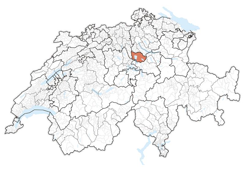 File:Karte Lage Kanton Zug 2013.png