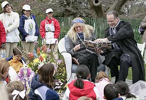 English: Children book authors Mary Pope Osbor...