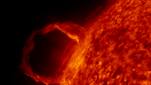 First light image from Solar Dynamics Observat...