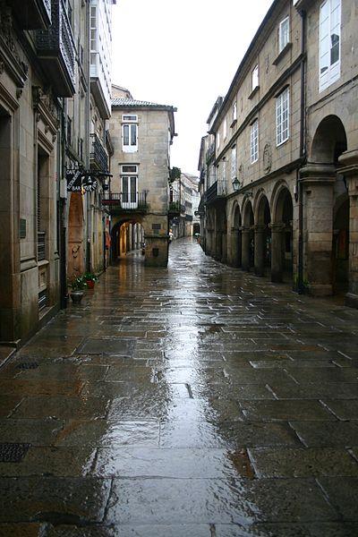 Casco Histrico de Santiago de Compostela  Vivir en el Mundo