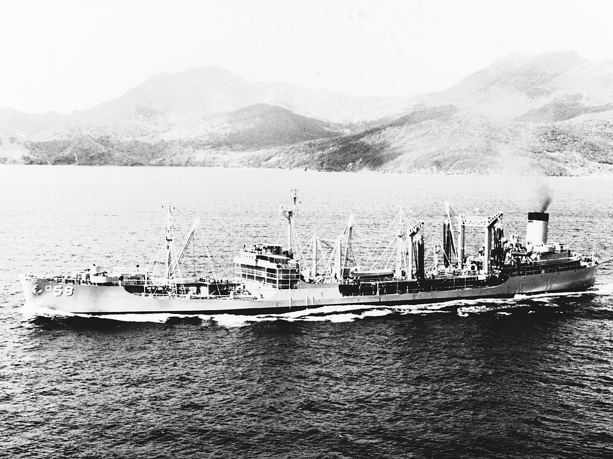 USS Manatee AO58  Wikipedia