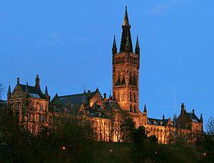 The Gilbert Scott Building at the University o...