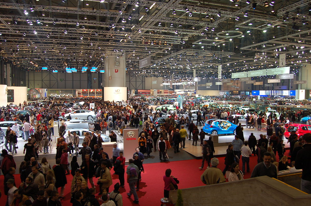 Salon international de lautomobile de Genve  Wikipdia