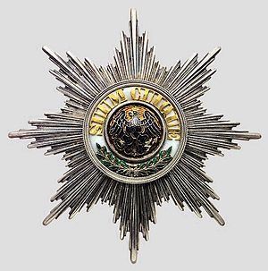 English: Order of the Black Eagle Deutsch: Ord...