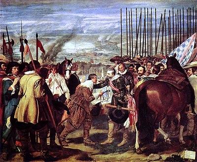 A tomada de Breda, por Velázquez