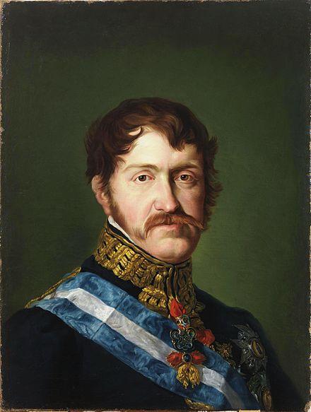 L'infant Charles de Bourbon.