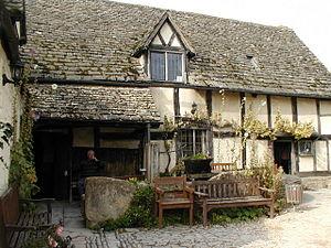 The Fleece - A National Trust house