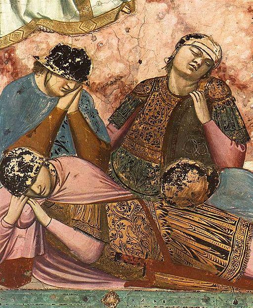 Giotto di Bondone - No. 37 Scenes from the Life of Christ - 21. Resurrection (detail) - WGA09225