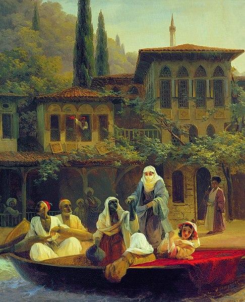 File:Ivan Constantinovich Aivazovsky - Boat Ride by Kumkapi in Constantinople.JPG