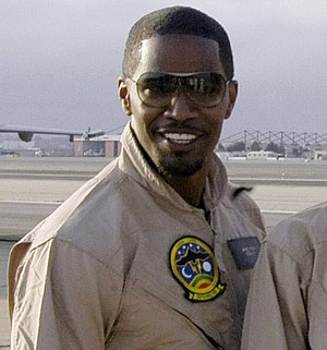 Foxx promoting Stealth in July 2005