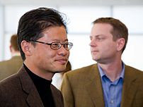 Jerry Yang and David Filo, the founders of Yahoo!