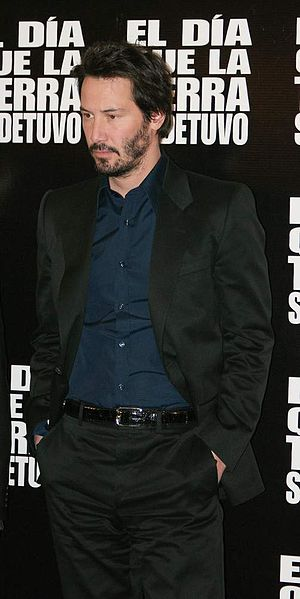 English: Actor Keanu Reeves in Mexico