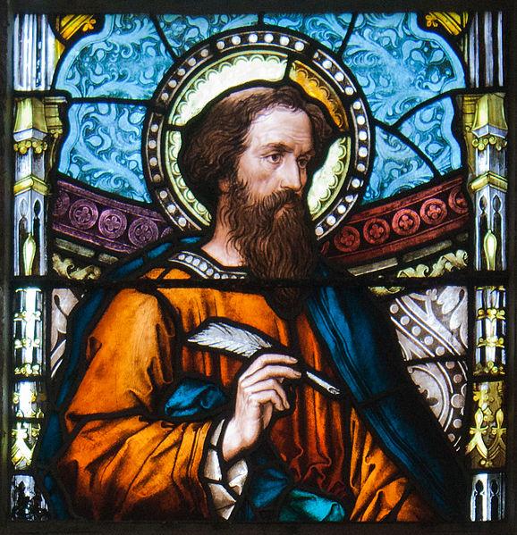 File:Kildare White Abbey North Transept Window Saint Luke Detail 2013 09 04.jpg
