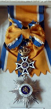 Order of OrangeNassau  Wikipedia