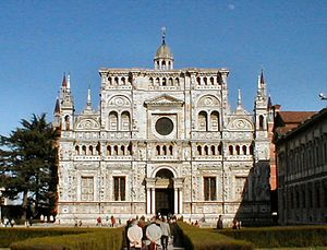 The Certosa of Pavia.