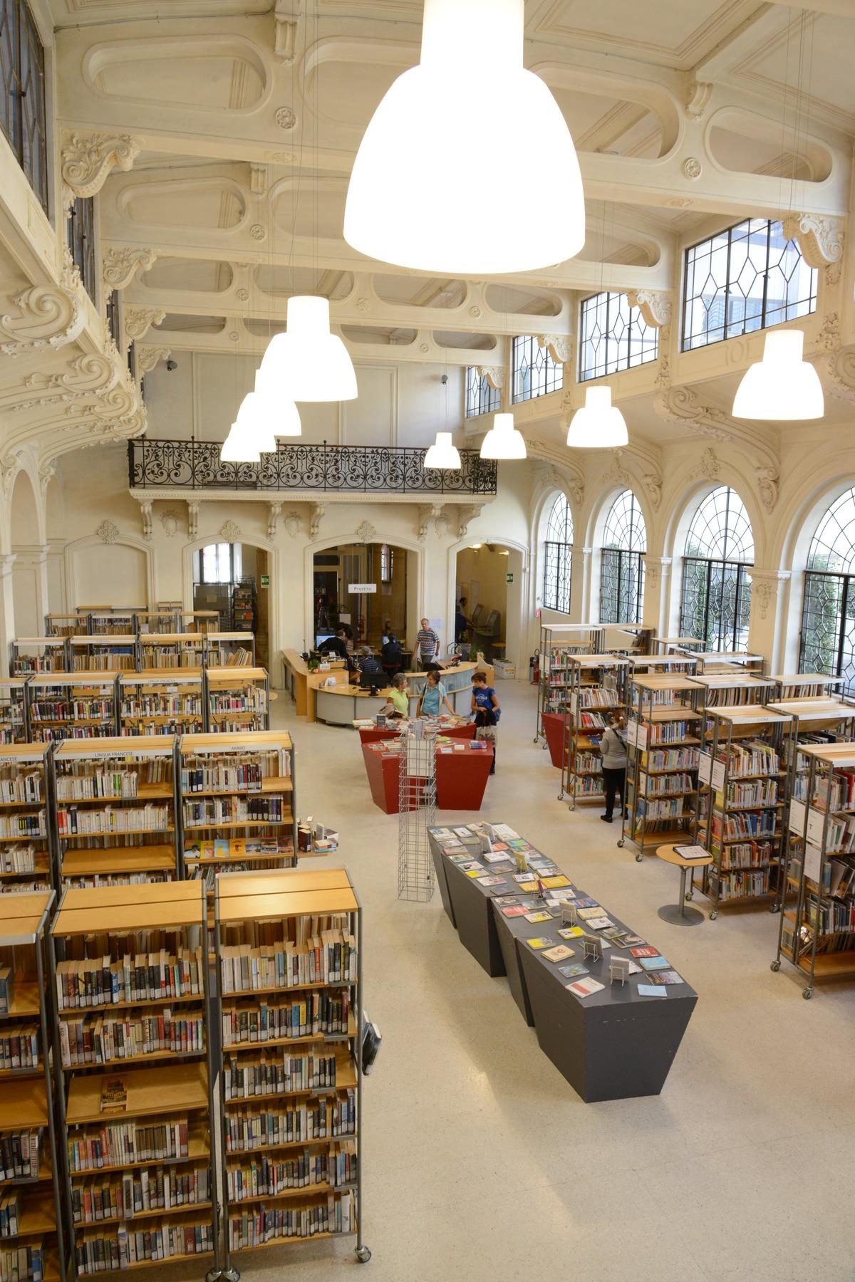 Biblioteca comunale di Trento  Wikipedia