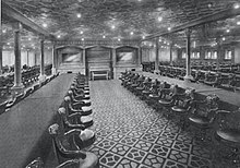 Installations de deuxime classe du Titanic  Wikipdia