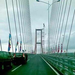 Bahasa Indonesia: Jembatan Suramadu yang baru ...