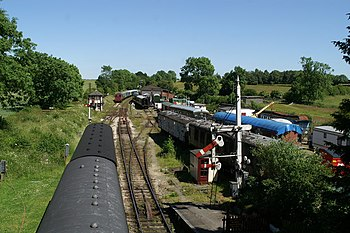 English: The Midland Railway Centre, Butterley...