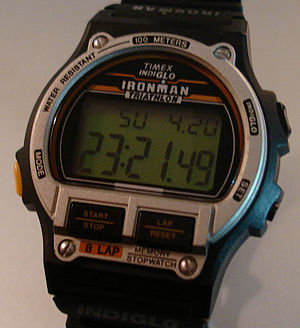Timex Ironman 20th anniversary watch