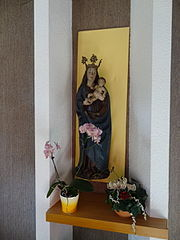 Le Silence De La Vierge : silence, vierge, File:Vierge, L'Enfant,, Chapelle, Notre, Silence.JPG, Wikimedia, Commons