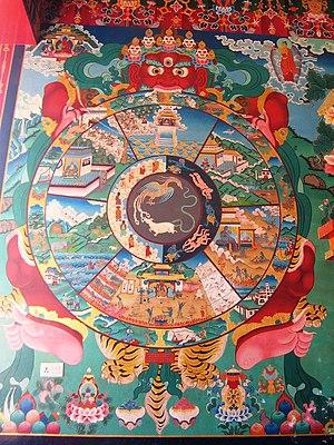 English: Kopan Monastery, Kathmandu, Nepal