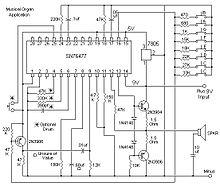 Amplifier Schematic Diagram Texas Instruments Sn76477 Wikipedia