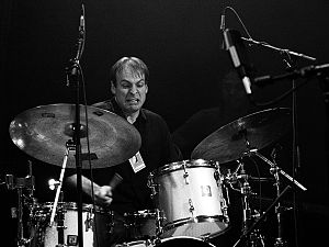 Ari Hoenig at Moers Festival, June 2006, Germany