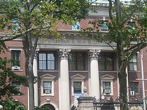English: Barnard College, New York City
