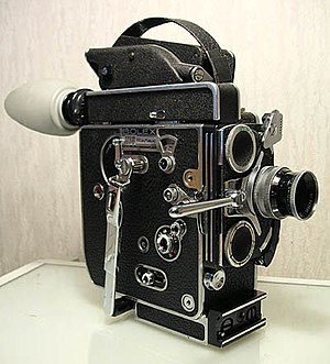 "This 16 mm spring-wound Bolex ""H16"" ..."