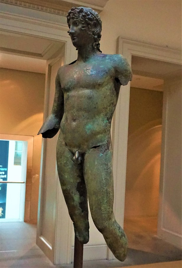 Bronze Statue of a Youth - British Museum - Joy of Museums