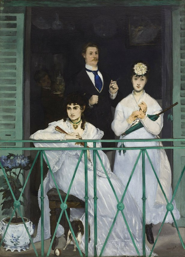 Edouard Manet - The Balcony - Google Art Project