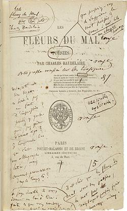 Les Fleurs Du Mal Mouvement Littéraire : fleurs, mouvement, littéraire, Fleurs, Wikipédia