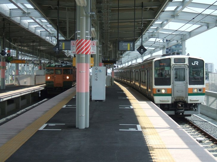 JNR 115 Series and JNR 211 Series at Isesaki.jpg