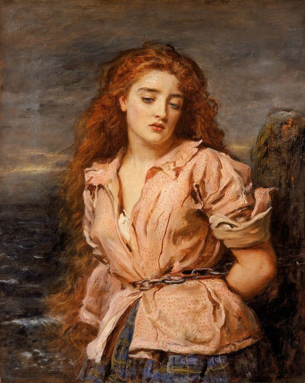 JOHN EVERETT MILLAIS - The Martyr of the Solway - Walker Art Gallery, Liverpool,