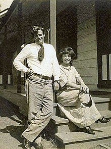 Jack and Charmian London 1911jpg