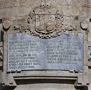 Galego: Lenda da escultura dedicada a Rosalía ...