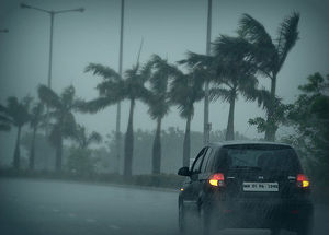 English: Rain in navi mumbai