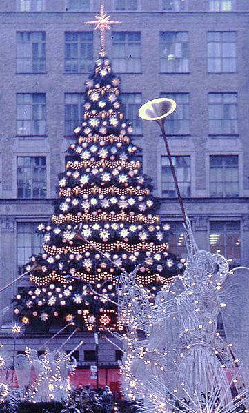 FileRockefeller Center Christmas Tree New York 1970